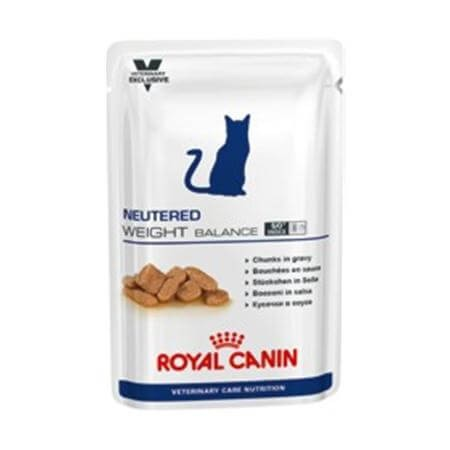 Royal Canin Vet Care Nutrition Neutered Weight Balance Feline 100g