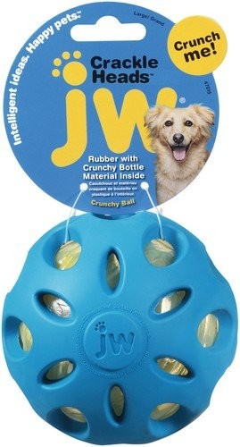 JW Pet Crackle Ball Large