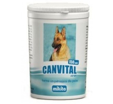 Mikita Canvital plus tran 150 tabl.