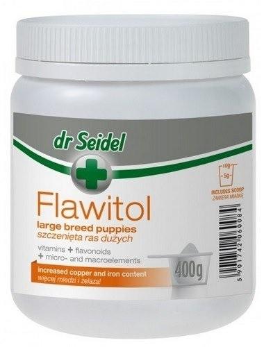 Dr Seidel Flawitol dla szczeniąt ras dużych proszek 400g