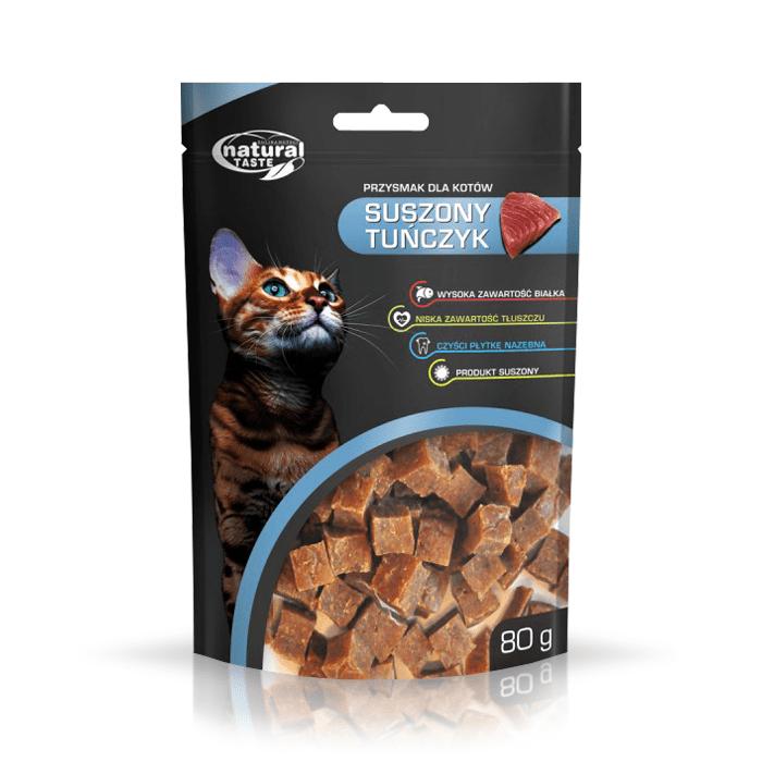 Natural Taste Cat suszony tuńczyk  80g