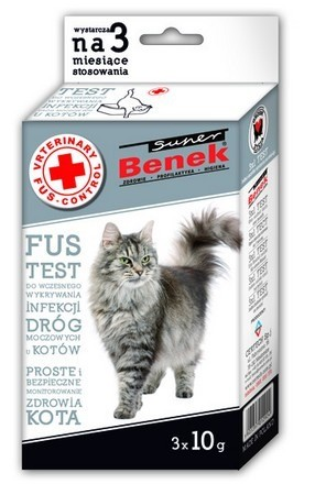 Benek FUS Test - wczesne wykrywanie infekcji dróg moczowych 3x10g