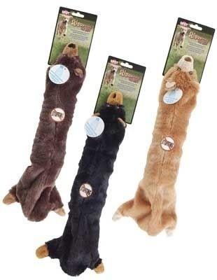 Skinneeez Niedźwiedź z szeleszczącą butelką w środku - zabawka dla psa