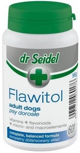 Dr Seidel Flawitol dla psów dorosłych 60 tabl.