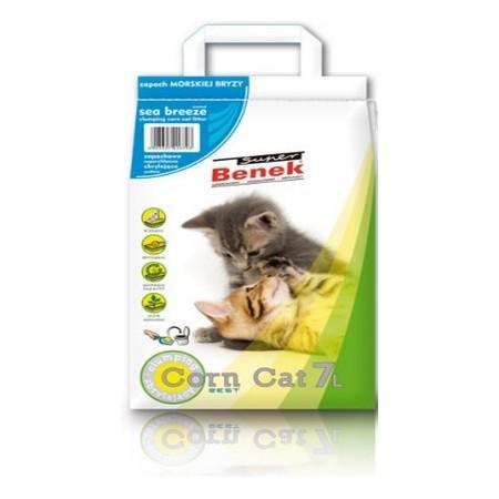 Żwirek Super Benek Corn Cat Morski 7l