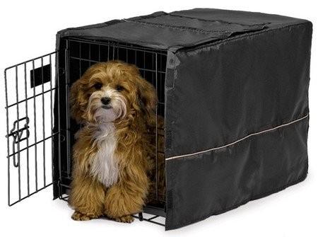 MidWest Pokrowiec na klatkę dla psa 56x33x41cm