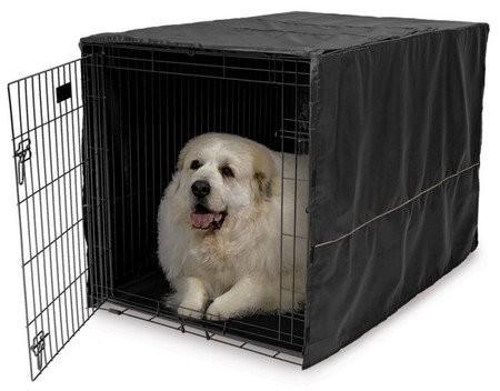 MidWest Pokrowiec na klatkę dla psa 122x76x84cm