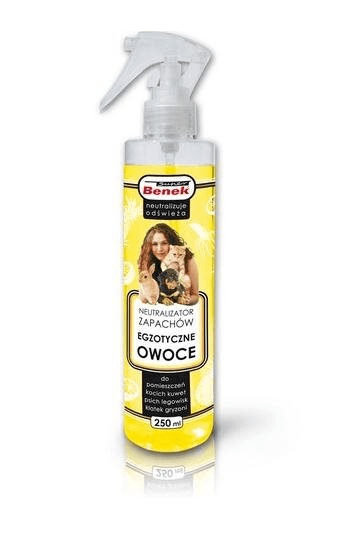 Super Benek neutralizator zapachów owocowy spray 250 ml