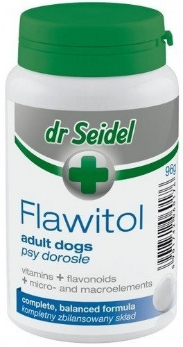 Dr Seidel Flawitol dla psów dorosłych 200 tabl.