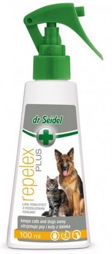 Dr Seidel Repelex Płyn utrzymujący psy i koty z daleka 100ml