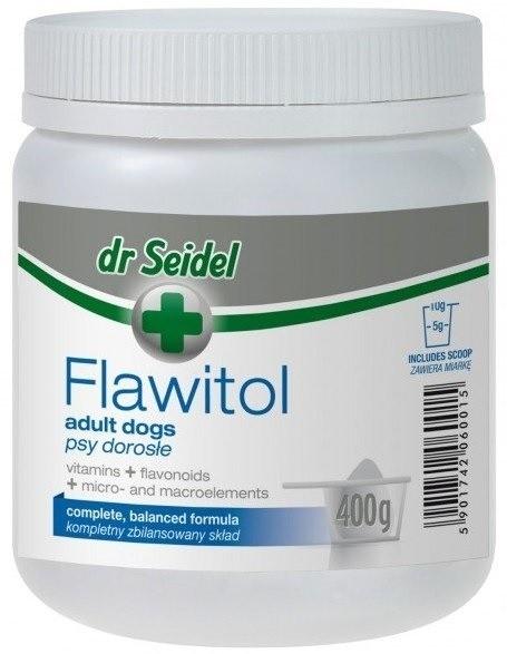 Dr Seidel Flawitol dla psów dorosłych proszek 400g