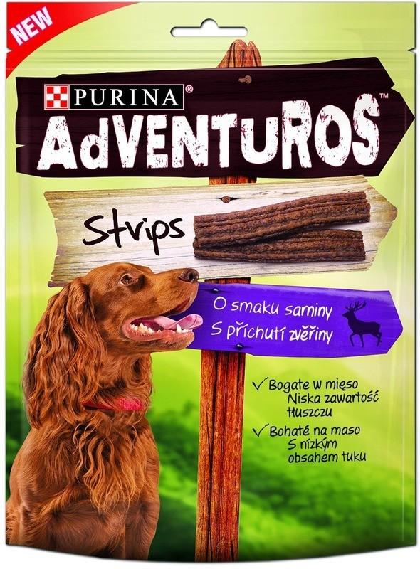 Purina Adventuros Strips o smaku sarniny 90g