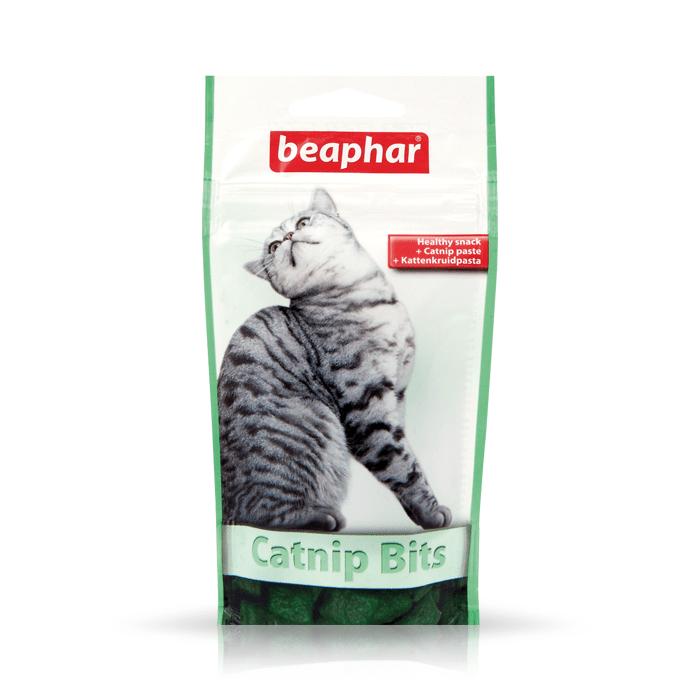 Beaphar Catnip Bits z kocimiętką 150g