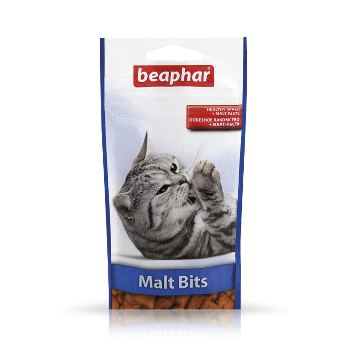 Beaphar Malt Bits odkłaczające 35g