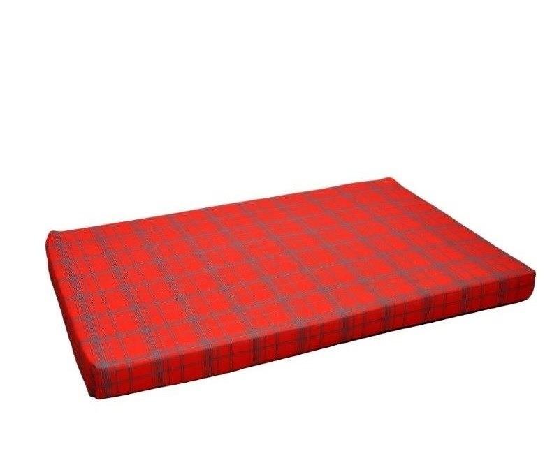 Chaba Legowisko Mata Standard czerwona krata