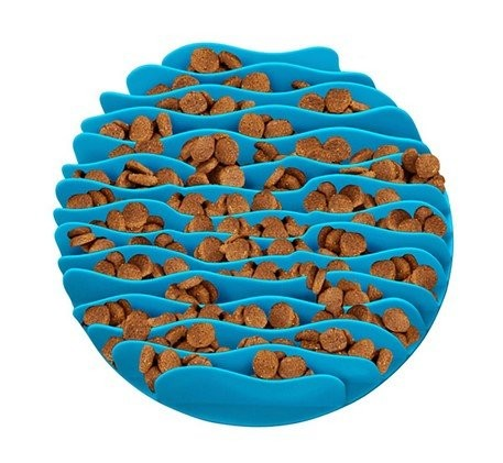Outward Hound Fun Feeder Mata Mini turkusowa