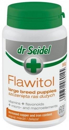 Dr Seidel Flawitol dla szczeniąt ras dużych 200 tabl.