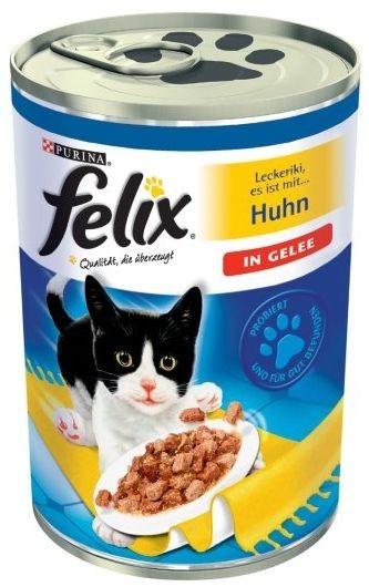 Felix w galaretce puszka 4 x 400g