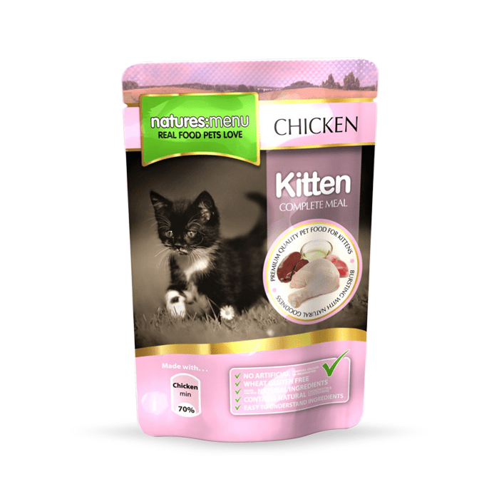 Natures Menu Kitten 12 x 100g