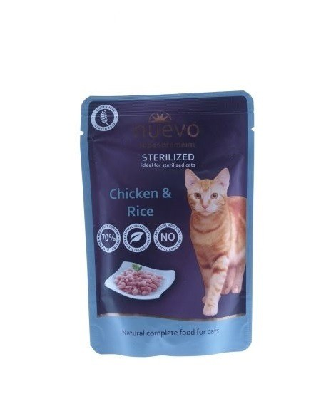 Nuevo Super Premium Adult Sterilised 12 x 85g