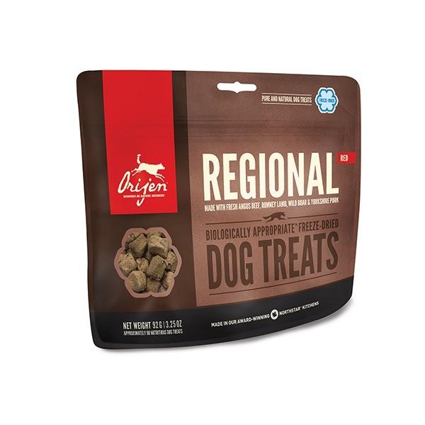 Orijen Freeze Dried Regional Red przysmak liofilizowany dla psa 42,5g