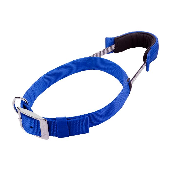 Patento Pet Obroża Basic niebieska