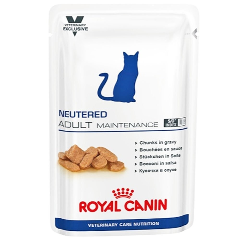 Royal Canin Vet Care Nutrition Neutered Adult Maintenance Feline 100g