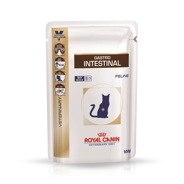 Royal Canin Veterinary Diet Feline Gastro Intestinal Moderate Calorie 100g
