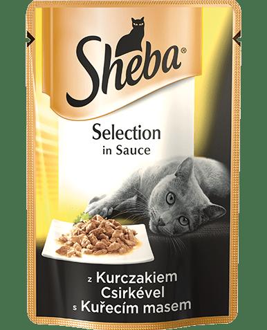 Sheba Selection w sosie 12 x 85g
