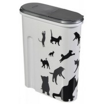 Curver Pet Life Pojemnik na kocią karmę z kotami 1,5kg