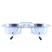 Lupi miski na stojaku 2x0,47l