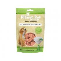 Planet Pet Society chicken rice bites 80g