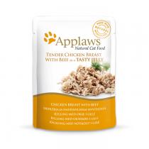 Applaws w galaretce pierś z kurczaka z wołowiną 70g