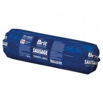 Brit Sausage Turkey & Rice 800g