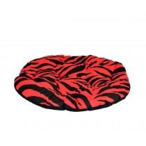 Chaba Poducha Owalna Standard czerwona zebra