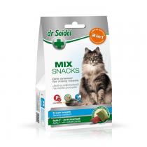 Dr Seidel Smakołyki dla kotów 2w1 malt oddech odkłaczanie 60g
