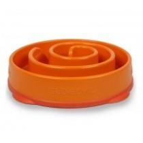 Outward Hound Fun Feeder Miska Mini spowalniająca jedzenie pomarańczowa
