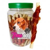 Prozoo Fine Dog Skóra biała owinięta mięsem z kaczki 300g