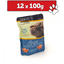 Fish4Cats Finest Mousse saszetka 12 x 100g