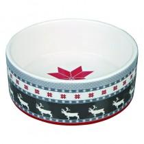 Trixie Miska ceramiczna świąteczna 0,8l