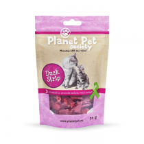 Planet Pet Duck Strip przysmak dla kota 30g