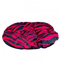 Chaba Poducha Owalna Standard różowa zebra