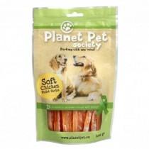 Planet Pet Pies miękkie paski kurczaka 100g