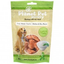 Planet Pet Society chicken rice bones 80g