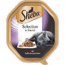 Sheba Selection w sosie tacka 12 x 85g
