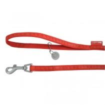 Zolux Smycz Mac Leather Czerwona