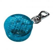 Trixie Zawieszka świecąca odblaskowa niebieska 3,5 cm