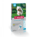 Advantix krople na pchły i kleszcze 4x1 ml  (4-10 kg)