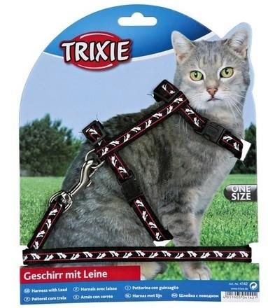 Trixie Szelki dla kota regulowane 27–46cm/10mm