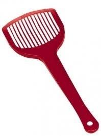 Ferplast Prima Toaleta + łopatka czerwona 39,5 x 52,5 x 38cm